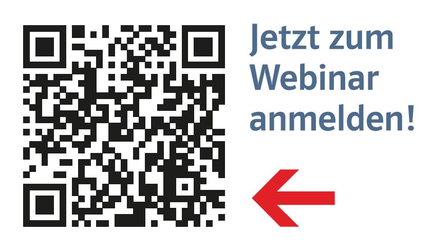 QR-Code zur Webinaranmeldung