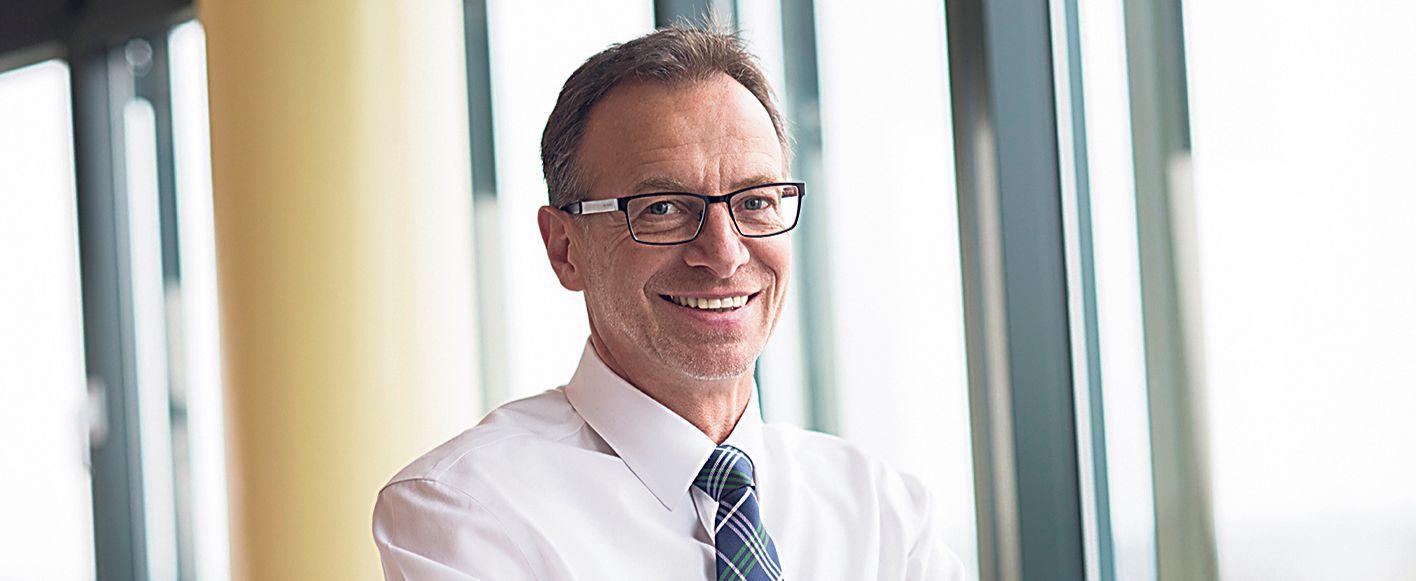 Jürgen Schäfer, Geschäftsleiter Vertrieb bei WAGO