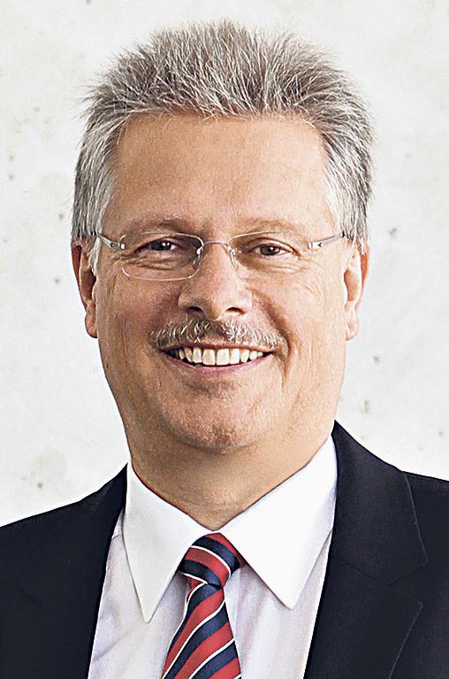 Ulrich Hamann, Vorsitzender der Geschäftsführung der Bundesdruckerei GmbH